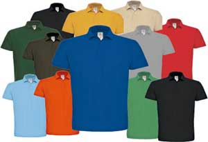 Promotion Poloshirt mit Logostick (inklusive)