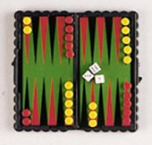 Reise-Magnetspiel Backgammon