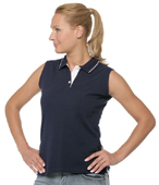 Ladies Sports Sleeveless Polo Kustom Kit KK370