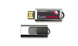 USB Stick Slide mit Logo Doming